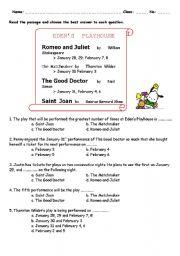 English Worksheets: Eden´s Playhouse