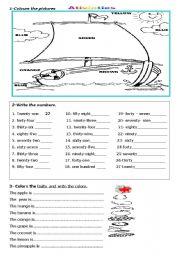 English worksheet: Ativicties
