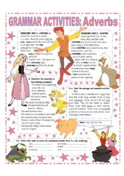 English Worksheets: ADVERBS - GRAMMAR REFERENCE & ACTIVITIES