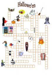 English Worksheets: Hallowe�en (02.09.09)
