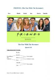 English Worksheets: Friends - intensive listening and discussion activities
