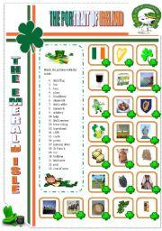 English Worksheet: THE PORTRAIT OF IRELAND