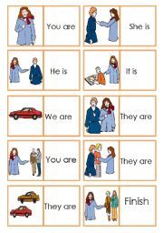 Dominoes Personal Pronouns