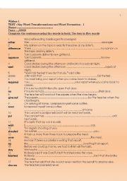 English Worksheets: FCE - Extra Practice