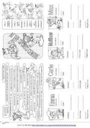 English Worksheets: At the Sport Centre - asking and giving personal information (2)