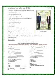 English Worksheets: Movie Activity - You�ve got mail