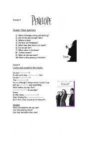 English Worksheets: Penelope-the movie