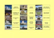 English Worksheet: Sightseeing LOS ANGELES dominoes (fully editable)