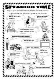 English Worksheets: speaking activity & role play
