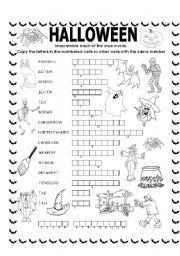 Double puzzle (Halloween) + KEY