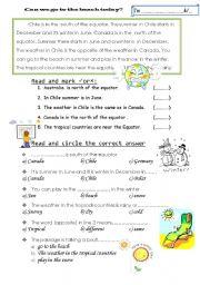 English Worksheets: raeding