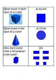 English Worksheets: Properties of Geometric Figures