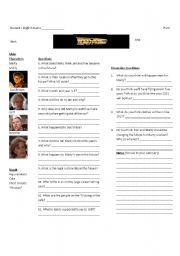 Back to the Future II-Worksheet 1