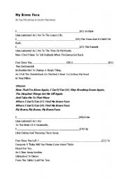 English Worksheets: My Brave Face - Paul McCartney - Presente Perfect Continuous