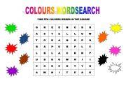 colours wordsearch