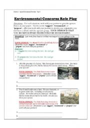 English Worksheets: Environmental Disasters Indicative vs. Subjunctive Moods Part 2 of 7