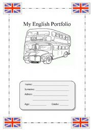 English Portfolio Cover