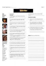 Back to the Future II-Worksheet 2