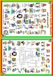 English worksheet: 41 Adjectives to describe character and personality