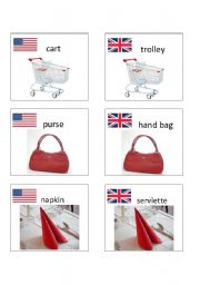 American / British English flashcards 7