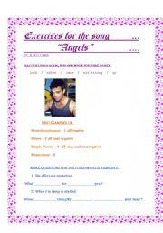 English Worksheets: Angels