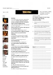 Back to the Future Part I: Worksheet 7 of 7