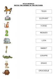 math worksheet : english teaching worksheets wild animals : Wild Animals Worksheets For Kindergarten