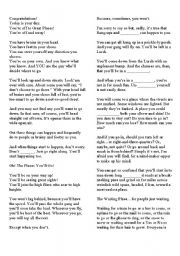 English teaching worksheets: Places
