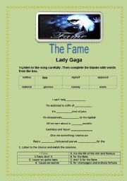 The Fame- Lady Gaga