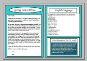 Informal letter giving news and advice accompanies powerpoint english worksheet informal letter giving news and advice accompanies powerpoint spiritdancerdesigns Choice Image