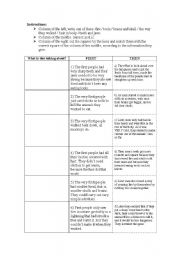 English Worksheets: Mankind Evolution