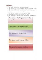 English Worksheets: Charades- GAME!!!