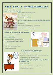 English worksheet: Personality Test