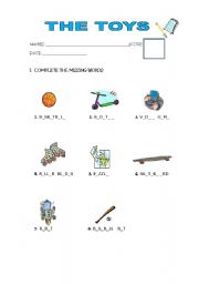 English worksheet: I HAVE A PUZZLE