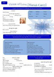 English Worksheets: Mariah Carey Vs. Norah Jones