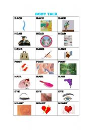 English Worksheets: COMPOUNDS/BODY TALK/WITH KEY