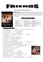 English Worksheet: Friends