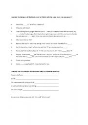 English Worksheets: Mind expressions
