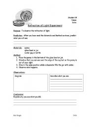 Worksheets Refraction Worksheet english worksheets refraction worksheet refraction