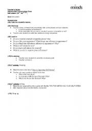 English Worksheets: self esteem
