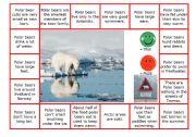 English Worksheet: Polar bear - true or false