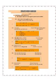English Worksheet: subject and verb agreement (3 pages)