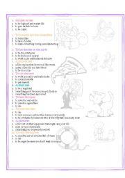 life idioms quiz part 2