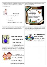 English Worksheets: Invitation- interactive activities