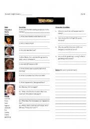 Back to the Future II-Worksheet 3