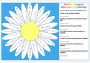 English Worksheet: days of this colorful flower:)
