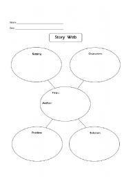 Worksheets Story Web Worksheet english teaching worksheets tales and stories story web