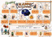 English Worksheets: halloween activities