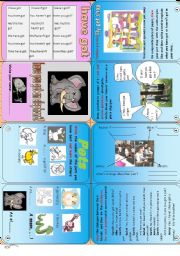 Have you got an elephant? Have got + pets minibook