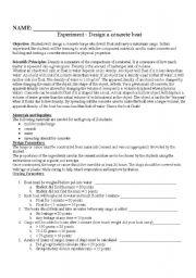 English Worksheets: Density